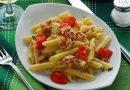 Pasta pomodorini tonno olive